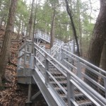 Galvanized Steel Staircase