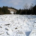 Ice Jam on the West Duffins Creek