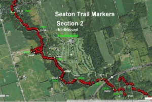 Section 2 Trail Marker Locations