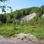 Bluffs along the Seaton Trail