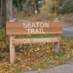 Seaton Trail sign