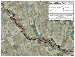 Seaton Trail - Existing And Proposed